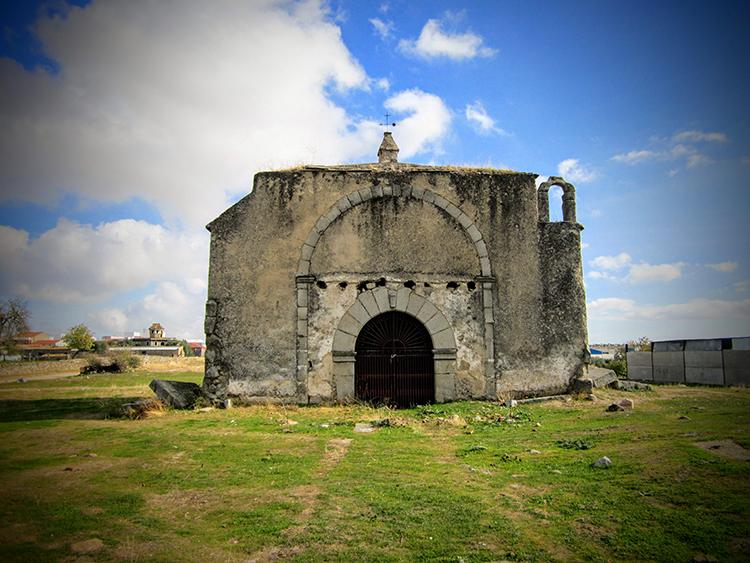 Ermita de los Mártires en Quintana de la Serena.