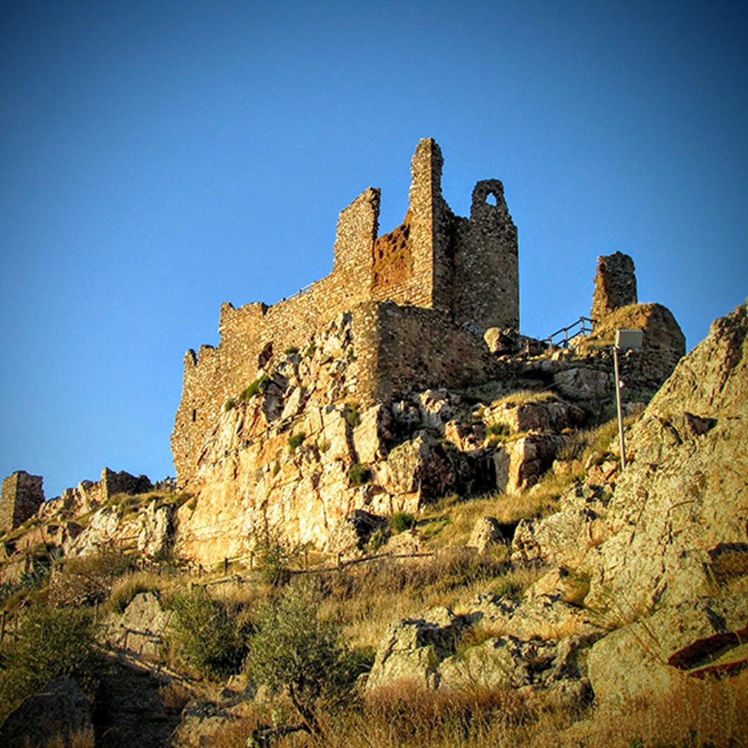 Castillo de Benquerencia de la Serena.