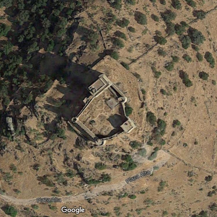 Castillo de Burguillos de Cerro