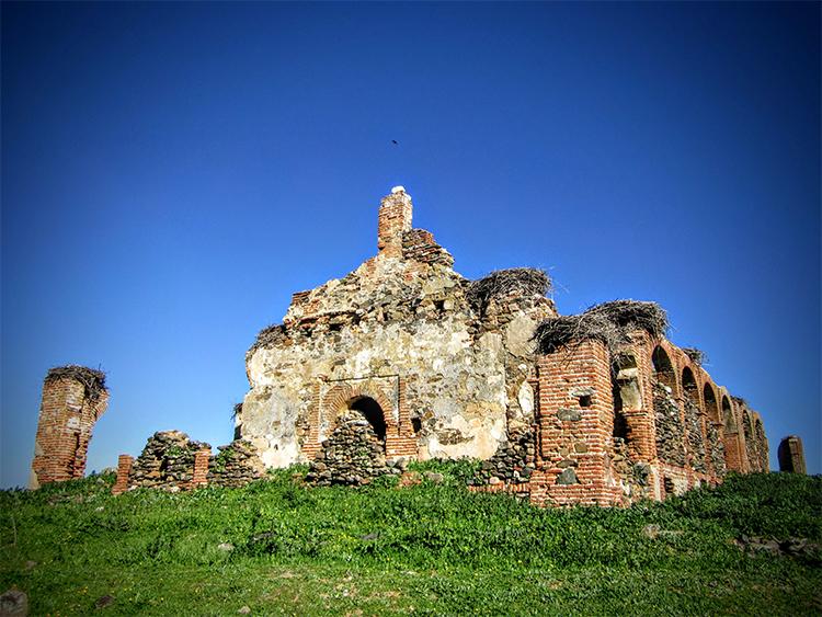 Ermita de la Magdalena o El Templaero en Puebla de Alcocer.