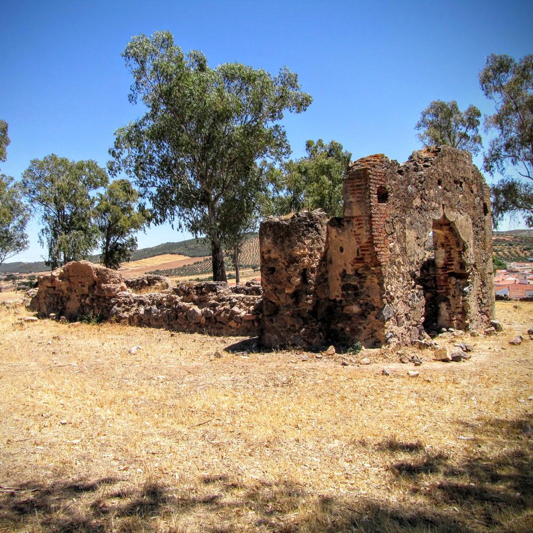 Ermita de los mártires en Valverde de Leganés