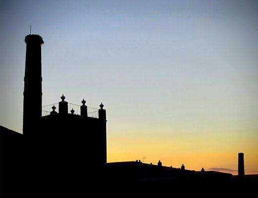 Skyline. Chimeneas,la herencia del patrimonio industrial en Almendralejo