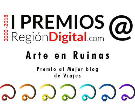 Arte en Ruinas premio mejor blog de viajes Región Digital